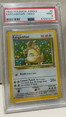 1999 Pokemon Jungle KANGASKHAN HOLO #5 5/64 | PSA 9 MINT Vintage Unlimited Not 1