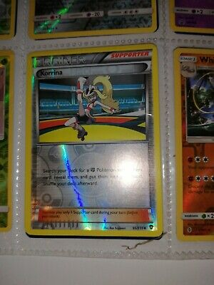Korrina - Reverse Holo Pokemon Trainer Card (95-111) Furious Fists