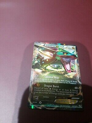 Pokemon - Rayquaza-EX - 85/124 - BW Dragons Exalted - Ultra Rare - Near Mint