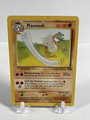 Marowak - 39/64 - Jungle - Vintage Pokemon Card - HP