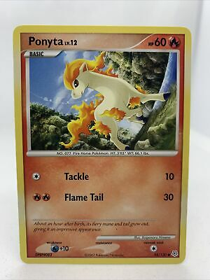 Ponyta 2007 Diamond And Pearl Set 94/130 Pokemon Card NM Rare