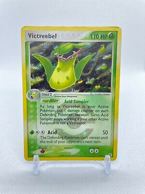 Pokemon TCG EX FireRed and LeafGreen Victreebel 17/112 Reverse Holo Rare Card