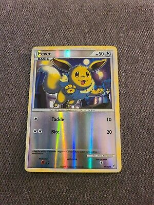 Eevee 56/95 - Reverse Holo Foil - Call of Legends 2011 - Pokemon Card