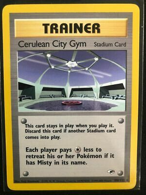 Pokemon 108/132 Cerulean City Gym Gym Heroes Uncommon