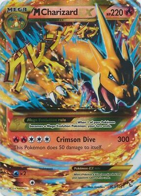 M Charizard EX - 107/106 - Ultra Rare Flashfire Pokemon LP