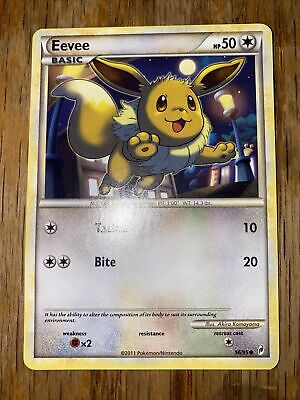 Pokemon Eevee 56/95 - Call Of Legends Non-Holo NM Near Mint