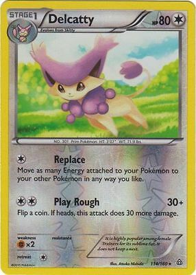 1x Delcatty - 114/160 - Rare - Reverse Holo NM-Mint Pokemon XY - Primal Clash