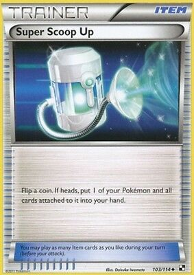 1x Super Scoop Up - 103/114 - Uncommon NM-Mint Pokemon BW - Black and White
