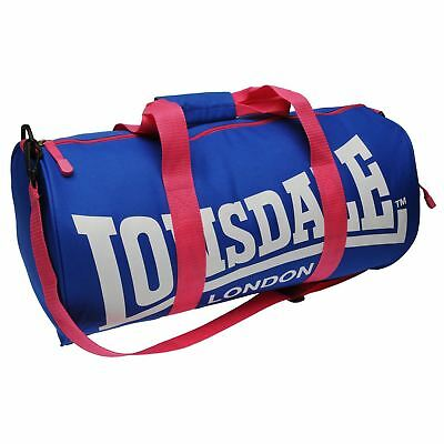 Сумка Lonsdale Barrel Bag Blue/Pink Sports