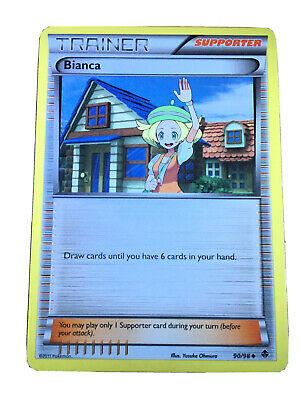 Pokemon Cards, Bianca - Emerging Powers, (Good Condition), No. 90/98