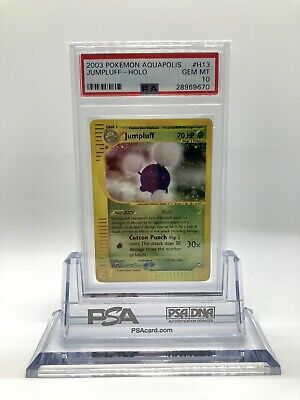 Psa 10 Pokemon Aquapolis Jumpluff Gem Mint Low Pop