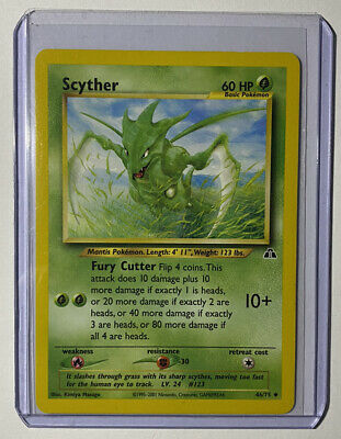 Pokemon Card Neo Discovery Scyther Uncommon 2001 46/75