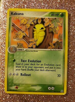 Pokemon Card Kakuna (EX Delta Species) 46/113 EXC/NM
