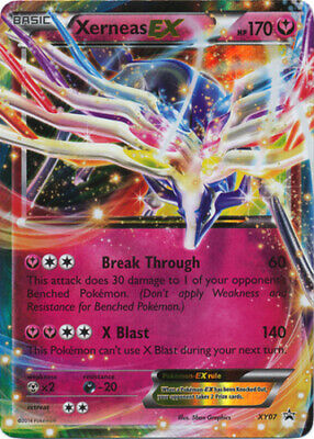 1x Xerneas-EX - XY07 - Legends of Kalos Promo Lightly Played Pokemon Pokemon Pro