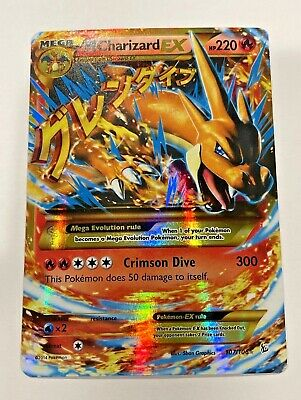Pokemon 2014 Mega M Charizard EX Flashfire 107/106 Holo Secret Rare