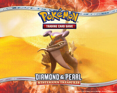 Pokemon TCG Diamond and Pearl Mysterious Treasures - Reverse Holo Uncommon Cards