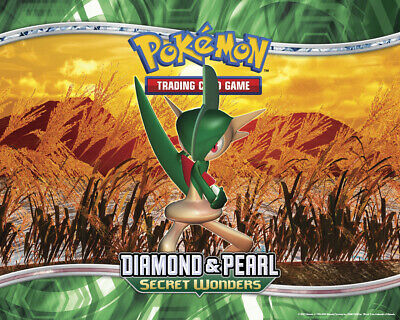 Pokemon TCG Diamond and Pearl Secret Wonders - Common Cards