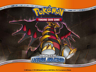 Pokemon TCG Diamond and Pearl Legends Awakened - Reverse Holo Common Cards