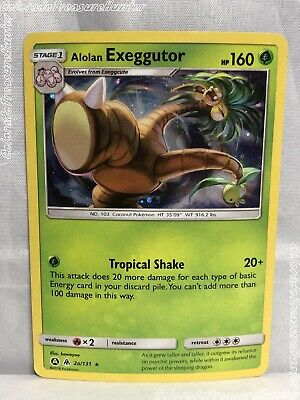 Pokemon Forbidden Light - Alolan Exeggutor 2a/131