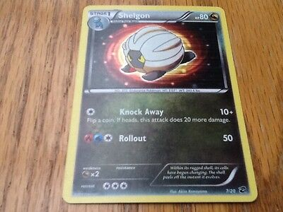 Pokemon Holofoil SHELGON Dragon Vault Promo Card 7/20 RARE MINT