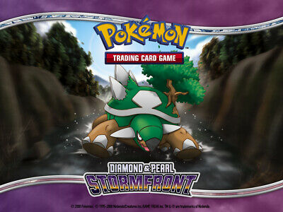 Pokemon TCG Diamond and Pearl Stormfront - Common Cards