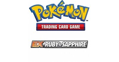 Pokemon TCG EX Ruby and Sapphire - Rare Cards