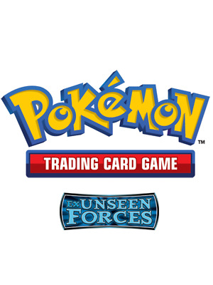 Pokemon TCG EX Unseen Forces - Reverse Holo Common Cards
