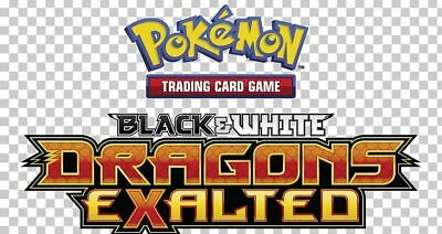 Pokemon TCG Black & White Dragons Exalted - Reverse Holo Rare Cards