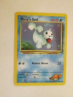 006PK088 - Misty's Seel - 88/132 - Gym Heroes - Common - Pokemon Card