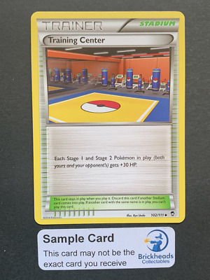 Training Center 102/111 Trainer | XY: Furious Fists | Pokemon Card