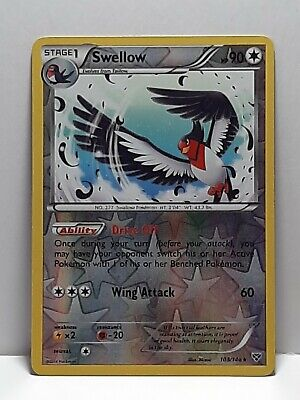 Swellow 103/146 XY Pokemon MP Reverse Holofoil Please See Pictures