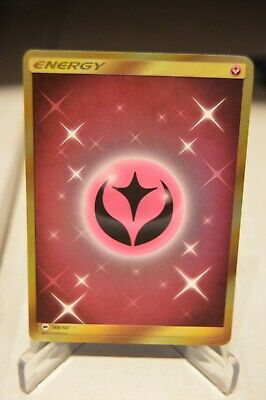 Pokemon Fairy Energy Secret Rare Sun & Moon Burning Shadows 169/147