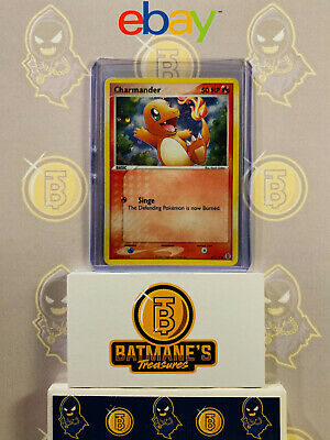 Charmander 57/112 LP Played FireRed & LeafGreen Holofoil Holo Pokemon Card