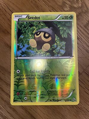 Seedot - Reverse Holo Pokemon Card 5/106 Flashfire