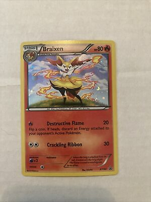 Pokemon Tcg: Xy Evolutions Blister Braixen Xy161 Promo Holo