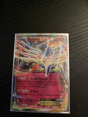 Xerneas EX NM Back star tin Promo XY07 Pokemon TCG