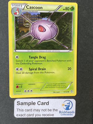 Cascoon 9/124 Uncommon | BW: Dragons Exalted | Pokemon Card