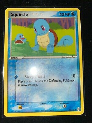Pokemon Card - Squirtle 82/112 EX Firered Leafgreen - Non Holo Common - LP TCG