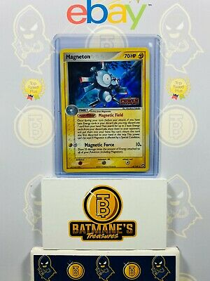 Magneton 16/108 LP Played EX Power Keepers Stamp Holofoil Rare Holo Pokemon Card