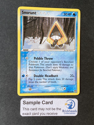 Snorunt 64/108 Common | Ex Power Keepers | Pokemon Card