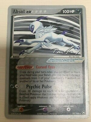 PSA 9 Absol Ex Power Keepers - Pokemon Card 92/108 - 2007