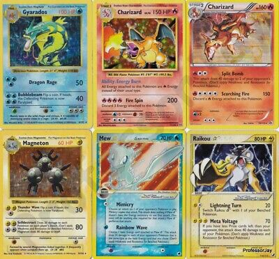 MEGA ULTRA RARE Collector Pokemon Cards SHADOWLESS 1ST EDITIONS GOLD STAR & More