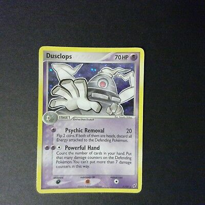 Dusclops 7/107 DEOXYS Pokemon Card Holo Rare 040718 - MP