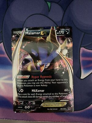 Malamar EX 58/119 XY Phantom Forces Ultra Rare EX Darkness Pokemon Card