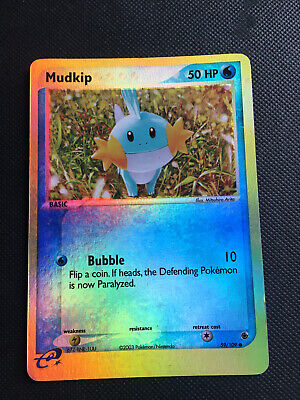 Mudkip 59/109 | Pokemon EX Ruby and Sapphire | Reverse Holo MP