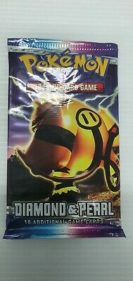 1x Pokemon Sealed Diamond And Pearl Base Set Booster Pack *unweighed* Electivire