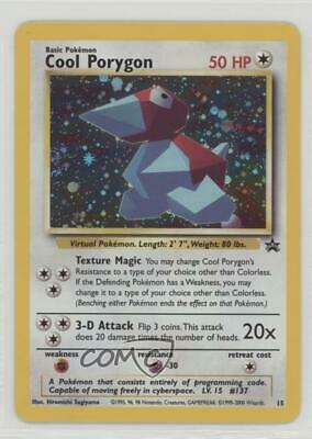 1999 Pokemon Wizards of the Coast Exclusive Black Star Promos Cool Porygon 1z8