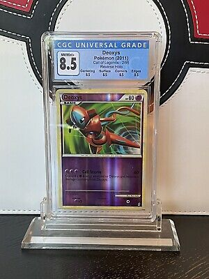 Deoxys 2/95 Reverse Holo Call of Legends Pokemon Card CGC 8.5 NM-M+