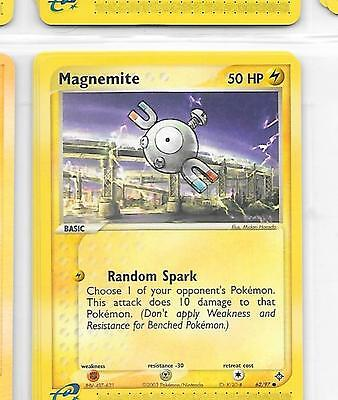 MAGNEMITE - 62/97 – Pokemon – Ex Dragon - NM = Buy more cards & save!