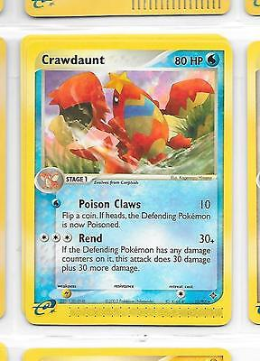 CRAWDAUNT - 13/97 – Pokemon – Ex Dragon - NM = Buy more cards and save!